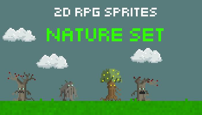 8 Bit RPG Nature Sprites