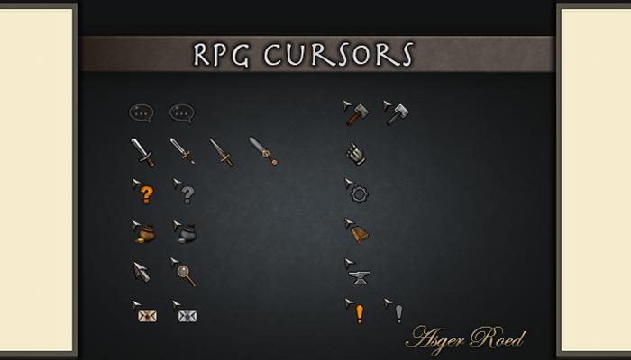 RPG Cursors