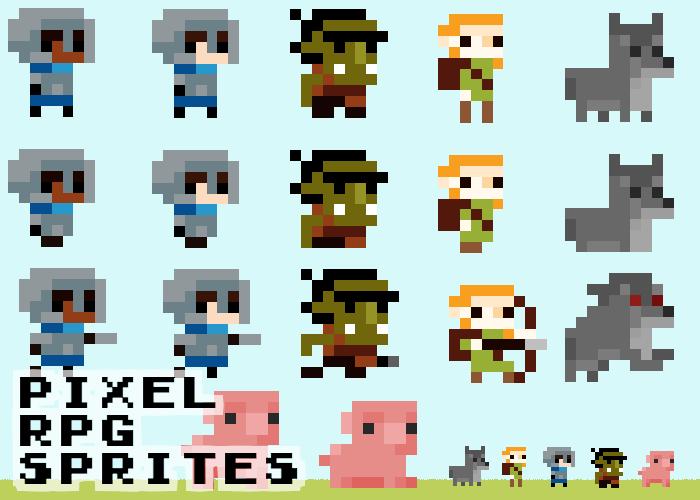 Pixel RPG Sprites