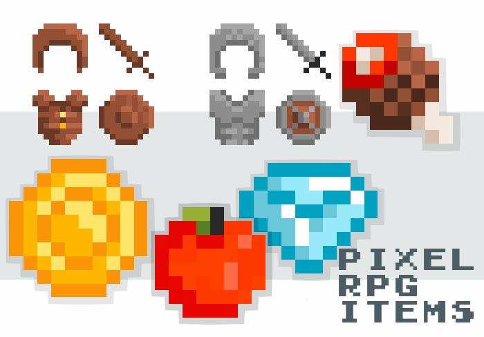 Pixel RPG Items