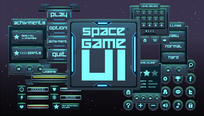 Space Game GUI