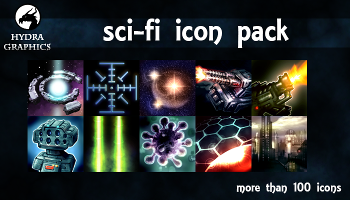 Sci-fi Icon Pack