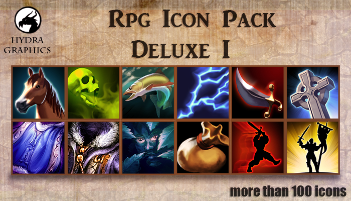 Rpg Icon Pack Deluxe 1