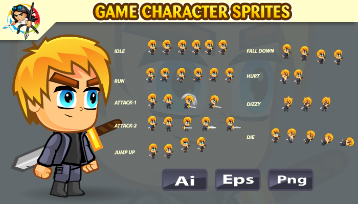 2D Game Character Sprites 02