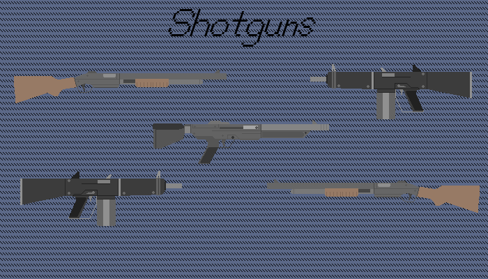 Simple Pixel Shotguns
