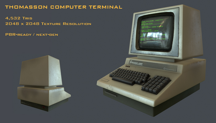 Thomasson PET Computer Terminal