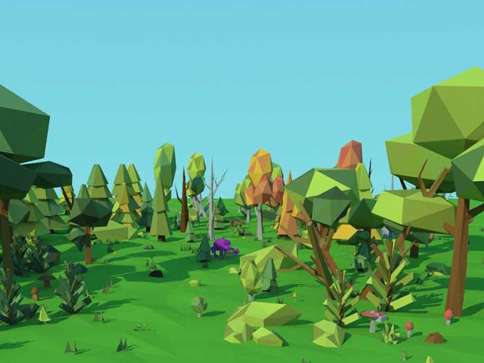 Low Poly Nature Pack