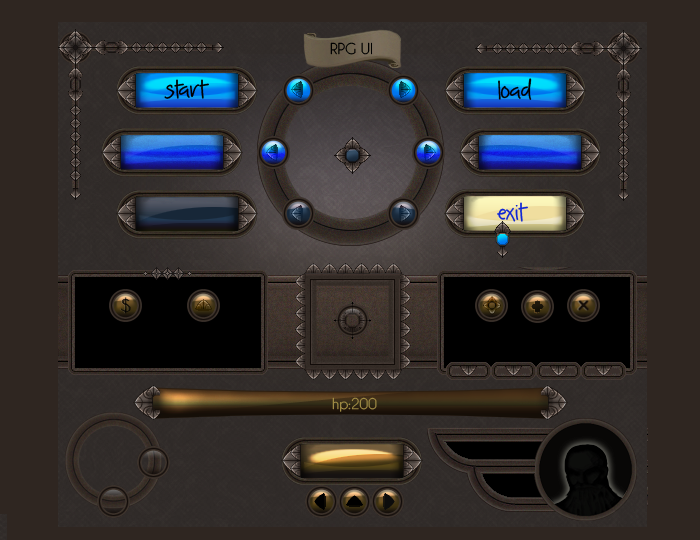 RPG User Interface
