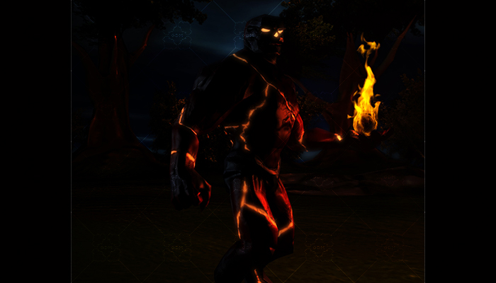 Demon Fantasy Character