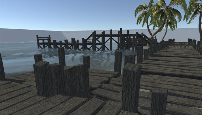Wooden Dock Builder Kit
