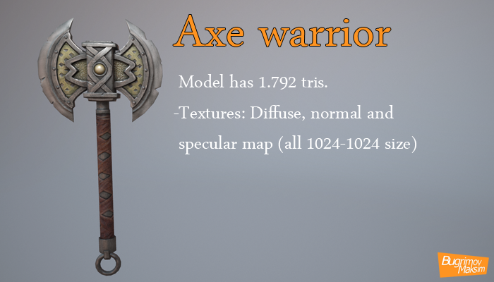 Axe warrior