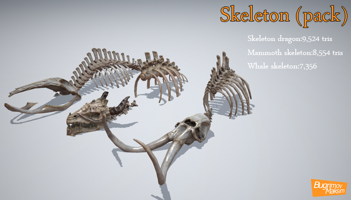 Skeleton pack
