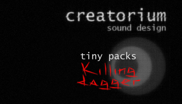 Creatorium tiny packs – Killing dagger