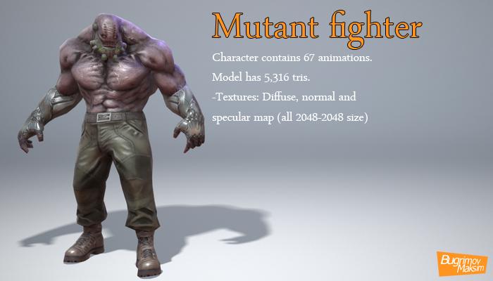 Mutant fighter