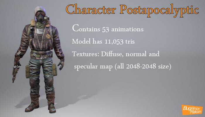 Postapocalyptic Character