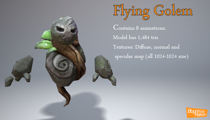 Flying Golem