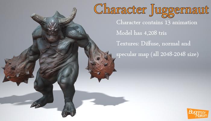 CharacterJuggernaut