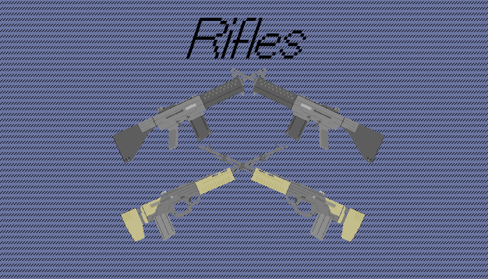 Simple Pixel Rifles