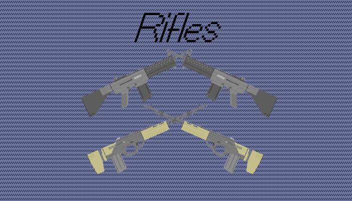 Simple Pixel Rifles