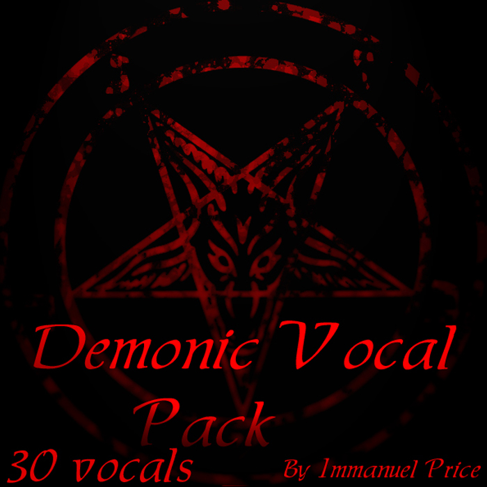 Demonic Vocal Pack