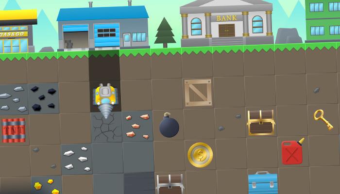 Digger Game Graphics Kit