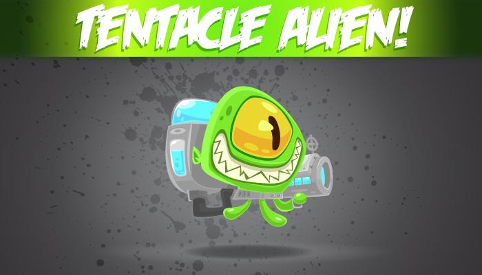 Tentacle Alien!