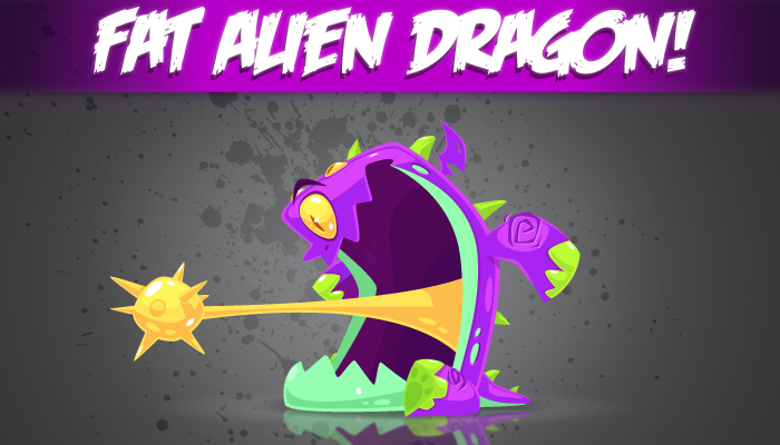 Fat Alien Dragon!