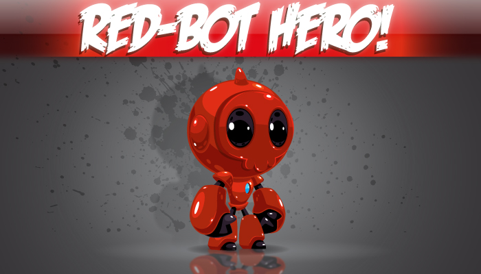 Red Bot Hero!