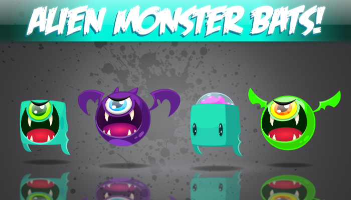Alien-Monster-Bats!