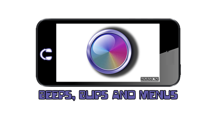Beeps Blips and Menus – Button FX – Nova Sound