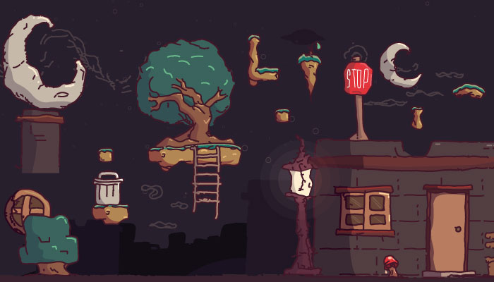 Night Platformer Pack