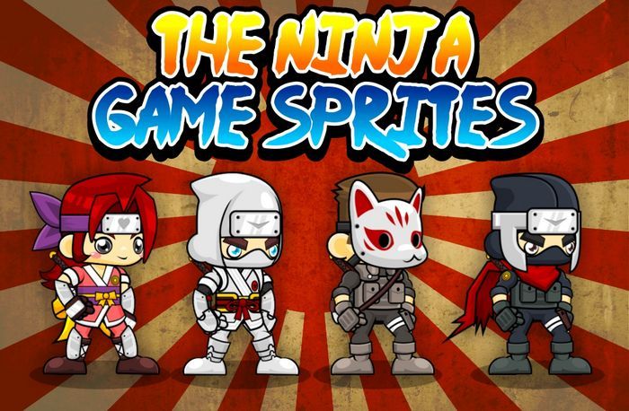 The Ninja – Game Sprites