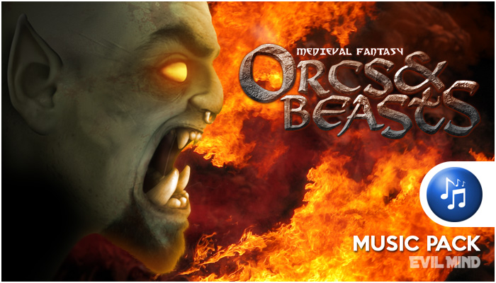 Orcs and Beast Music Pack