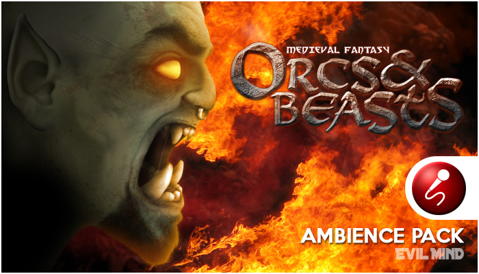 Orcs and Beast Ambience Pack