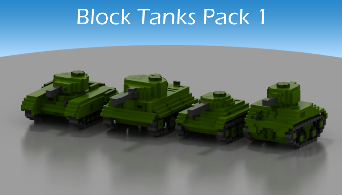 Block Tanks Pack 1