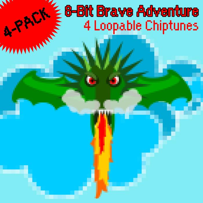 8-Bit Brave Adventure 4-PACK