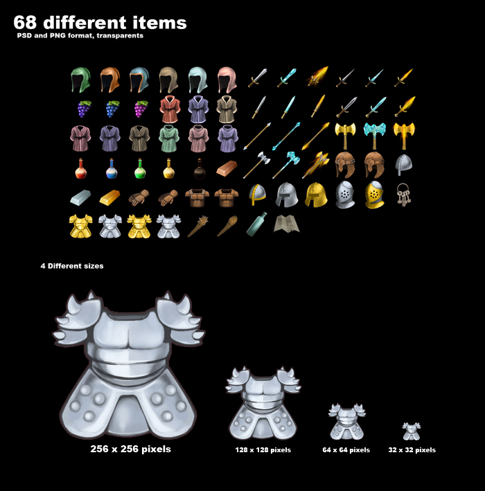 Fantasy RPG Items Vol. 3
