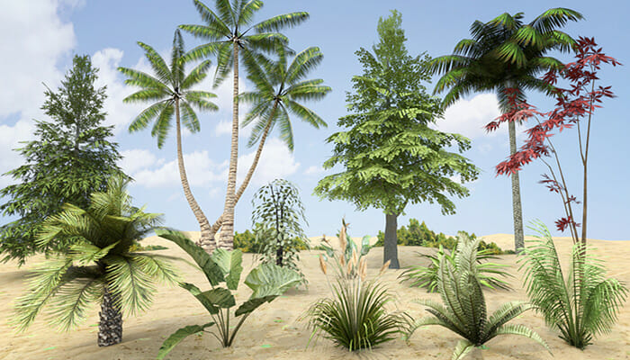 Plants, Grass and Trees Pack