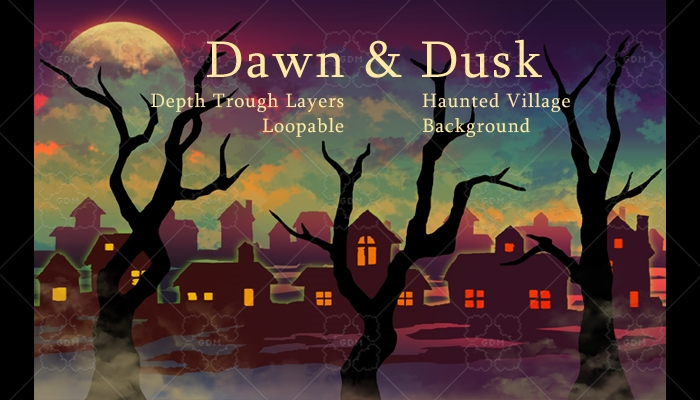 Dawn and Dusk Haunted Village