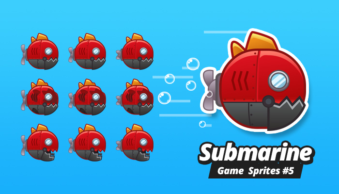 Submarine Game Sprites 5