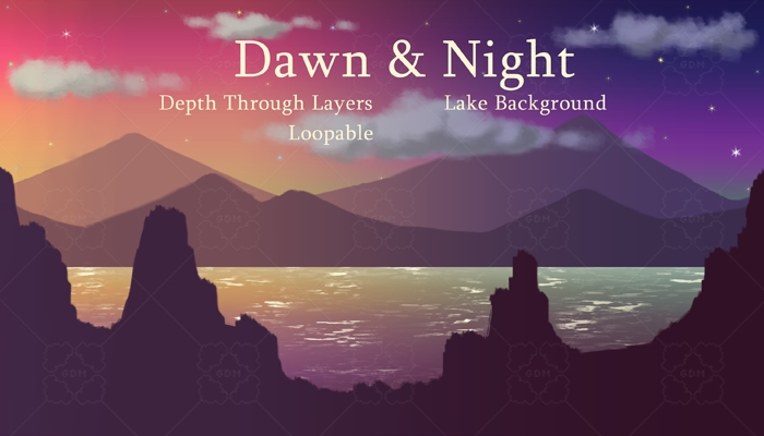 Dawn and Night Lake