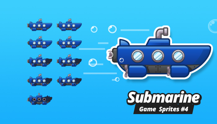 Submarine Game Sprites 4