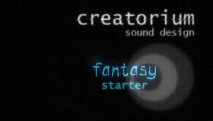 Creatorium soundbanks – Fantasy: starter