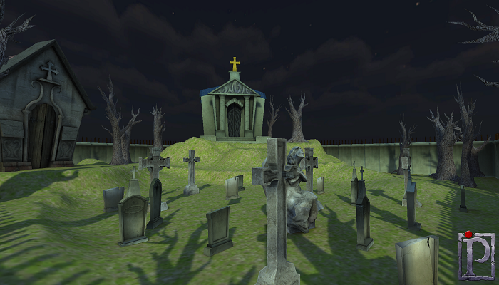 Cemetery Pack Low Poly