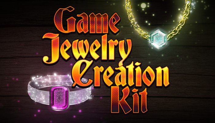 Game Jewelry Creation Kit