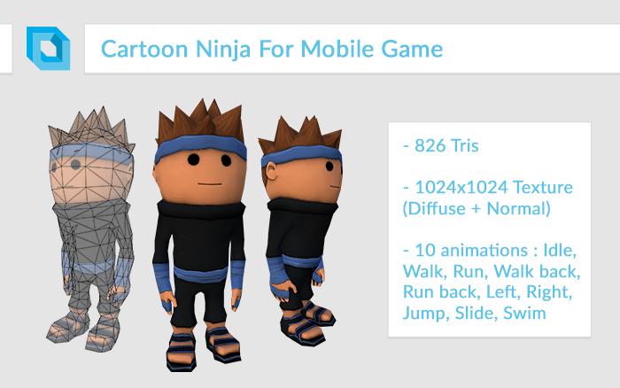 Super-Deformed Cartoon Ninja