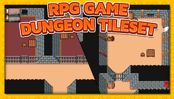 7Soul's RPG Graphics – Tiles – Dungeon