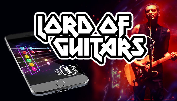 Lord of Guitars – Music Game UI