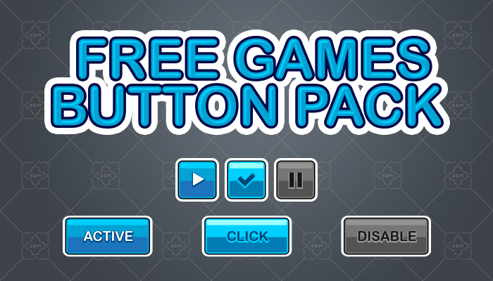 Free Games Button Pack 2