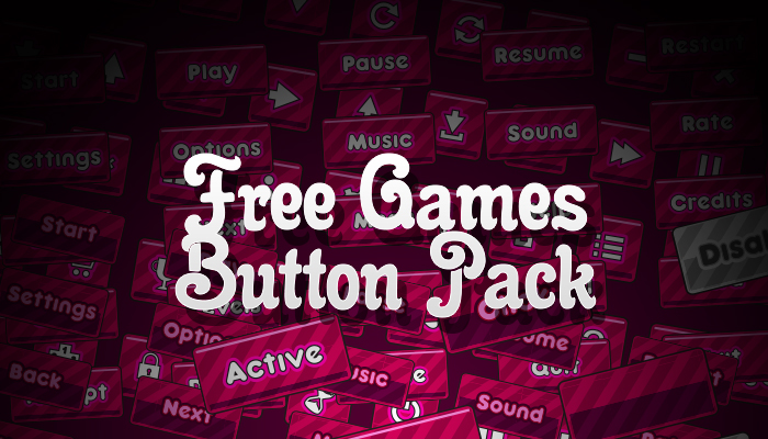 Free Games Button Pack 3